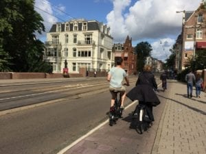 Amsterdam bike scene, August 2018. Jaan Pill photo