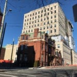 Tall building in background is new Irving headquarters in Uptown Saint John. Jaan Pill photo
