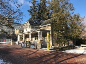 Raithby House, opposite Guelph University Bookstore. Jaan Pill photo