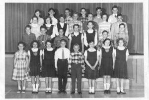1958 June Laurentide school Grade 6.