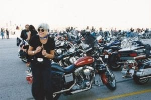 1999 - Joëlle King in Sturgis